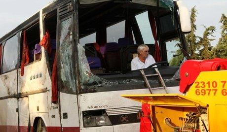 Στην Ελλάδα ανατράπηκε λεωφορείο με Ρώσους: υπάρχουν θύματα