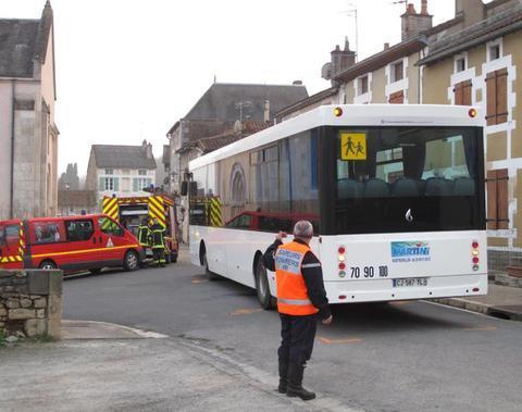Gouex : une passante tuée par un bus scolaire