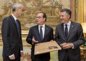 Le chef du gouvernement d'Andorre Antoni Marti a remercié le président de la France et co-prince d'Andorre, François Hollande, pour son soutien aux réformes de la principauté | ALL A...