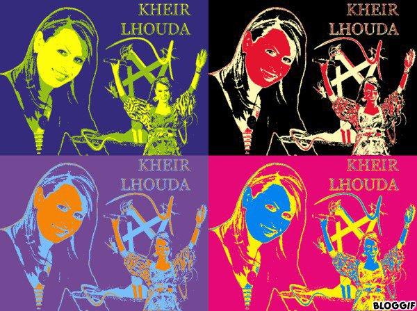 FANS-Clubs-KHEIR-L-HOUDA, Posté le vendredi 28 décembre 2012 00:02 Répondre Blog du club des fans consacré a la gracieuse et talentueuse Artiste Marocaine KHEIR L HOUDA http://fans-clubs-kheir-l-houda.skyrock.com/