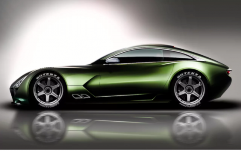 TVR' V8 sports car unveiled at the Goodwood Revival