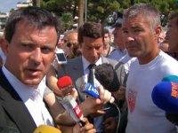 Noyade et braquage au menu de la visite de M. Valls à Cannes