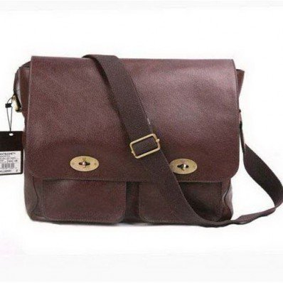 New Style Mulberry Henry Messenger Bag Chocolate Online