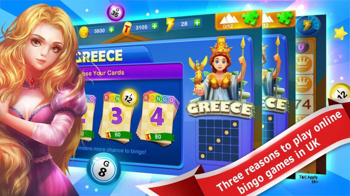 Three reasons to play online bingo games in UK