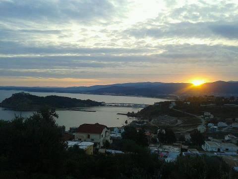 levé de soleil aujourd'hui a Tabarka la perle du nord tunisien (l)(l)