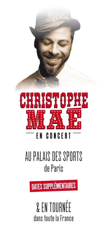 Christophe Maé en tournée - exclu NRJ