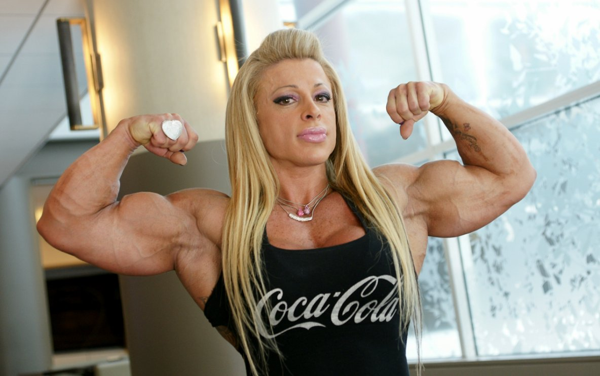Anne Freitas Female bodybuilding : - female bodybuilders 24