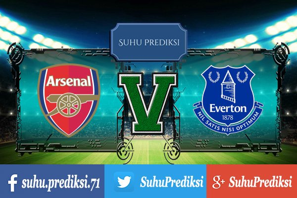 Prediksi Bola Arsenal Vs Everton 4 Februari 2018