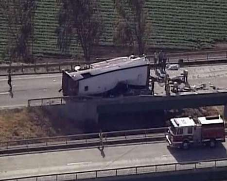 Six morts, dont cinq Français, dans l'accident d'un car aux USA