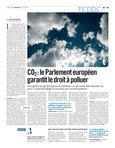 CO2 : le Parlement européen garantit le droit à polluer
