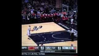 Tony Parker with the worst free throw ever! - YouTube