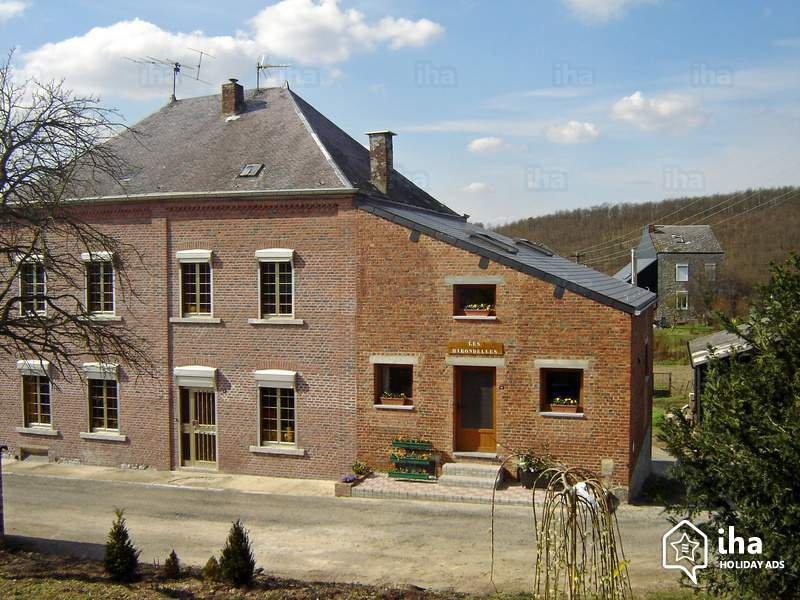 Gîte à louer, Dion de 2 à 9 personnes avec 3 chambres /Gîte huren, Bijgebouw in Dion met 3 slaapkamers IHA 8947
