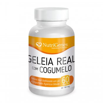 Geleia Real com Cogumelo || NutriGenes