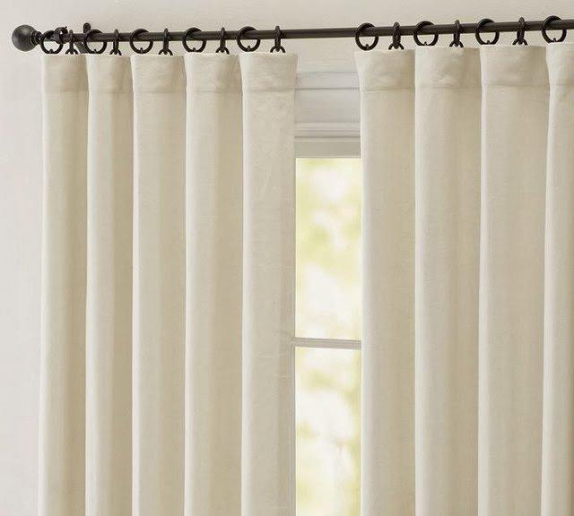 Cr er une atmosph re de printemps avec rideaux lin for Rideau lin cuisine