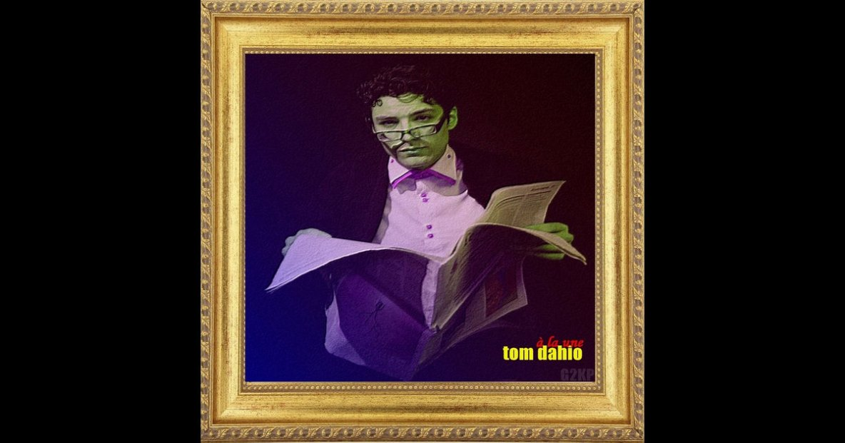 Tom Dahio ep A la Une Dispo sur itunes !!!!