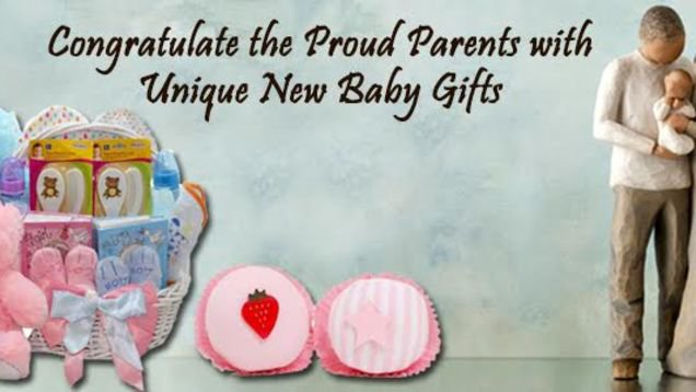 Congratulate the Proud Parents with Exclusive New Baby Gifts