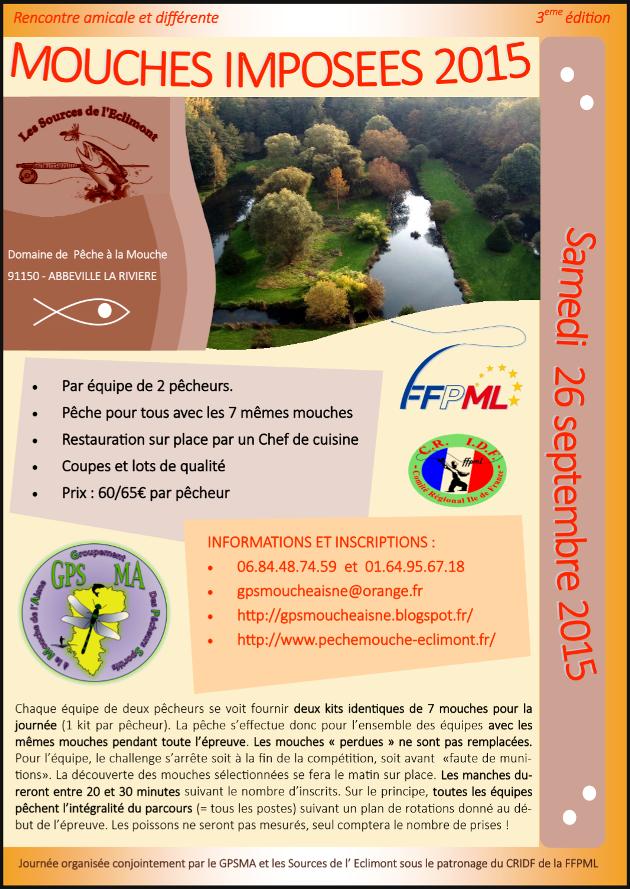Groupement des Pêcheurs Sportifs à la Mouche de l' Aisne: Prochainement, 3eme édition des mouches imposées GPSMA