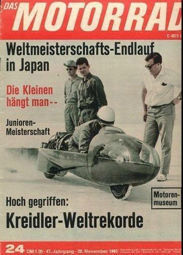 Les records des 50cc à compresseur, 1956 / 196km/h , 1965 / 210km/h... - ZSEFT- ZUNDAPP