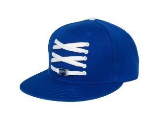 "Lacer Headwear Cap ""Limited Edition"" Blue DODGERS FITTED Hat with White Lace & Extra Grey Lace: Amazon.co.uk: Amazon.co.uk:"
