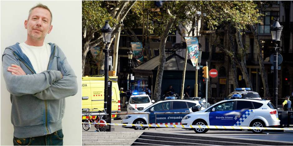 """Attentat à Barcelone: """"J'ai revécu ce qu'on a connu à Bruxelles juste après les attentats"""""""