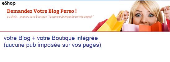 Votre Blog avec ou sans Boutique - Nord, Nord-Pas-de-Calais - Chezmatante.fr