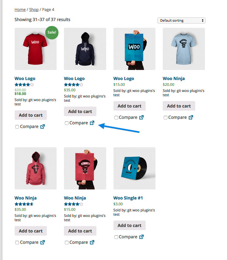 WooCommerce Products Compare 1.0.7 Extension - Get Lot