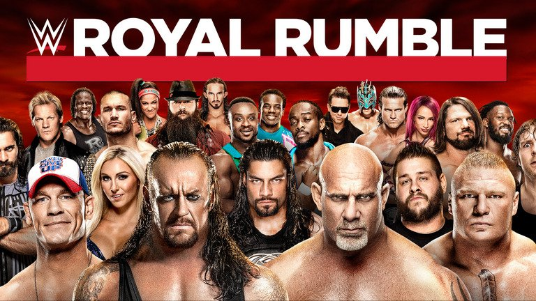 WWE Royal Rumble 2017 30 Man Match FULL MATCH
