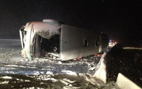 Haute-Marne : un mort dans un accident de car dû à la neige