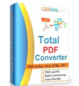 CoolUtils Total PDF Converter Crack Full Version Free Download