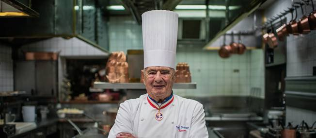 Paul Bocuse, le pape de la gastronomie, est mort
