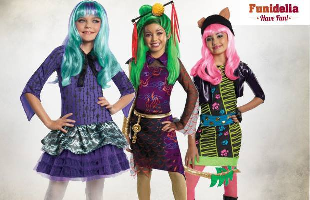 Nouveautés Monster High chez Funidelia !