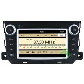 Auto DVD Player GPS Navigationssystem für Mercedes-Benz Smart Fortwo(2012)