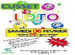 Annonce 'LOTO du Cos de la Ville de Cusset'
