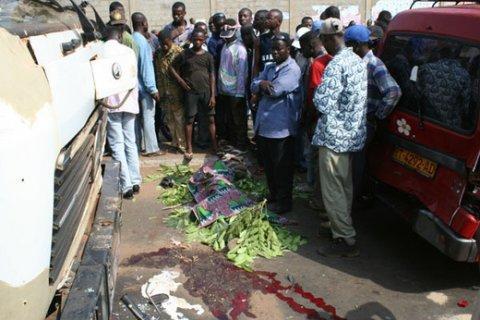 Bignona : 6 morts et 30 blessés dont des jeunes filles dans un accident de la circulation