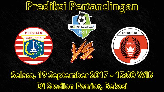 Prediksi Persija vs Perseru Serui 19 September 2017