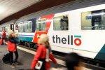 """Premier """"couac"""" du train privé Thello : 7 heures de retard en gare de Dijon"""