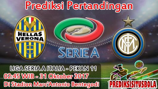 Prediksi Hellas Verona VS Inter Milan 31 Oktober 2017