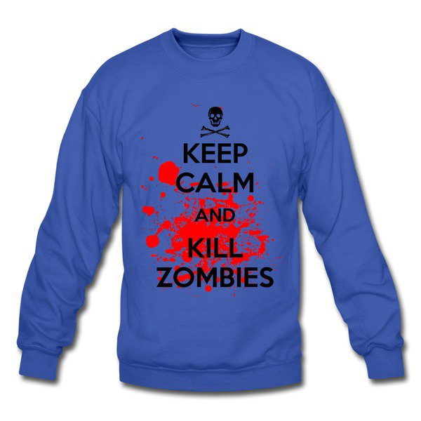 Kc And Kill Zombies4 Sweatshirts on Sale-Official Brands Sweats |HICustom