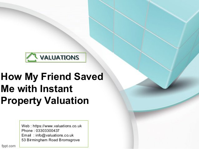 How Can I Get Value of my Property Now???