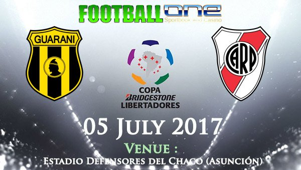 Prediksi GUARANI vs RIVER PLATE 05 July 2017