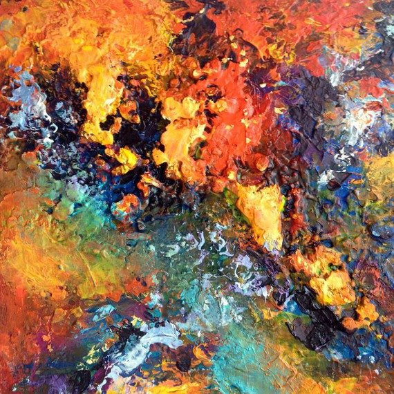 Peintures abstraites Dam Domido oil painting abstract art