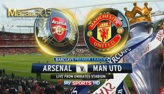 IDN SPORTSBOOK MACAU303: Prediksi Judi Bola Arsenal vs Manchester United 7 Mei 2017