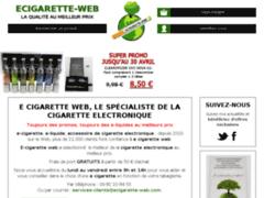 Ecigarette web : le spécialiste de la cigarette electronique