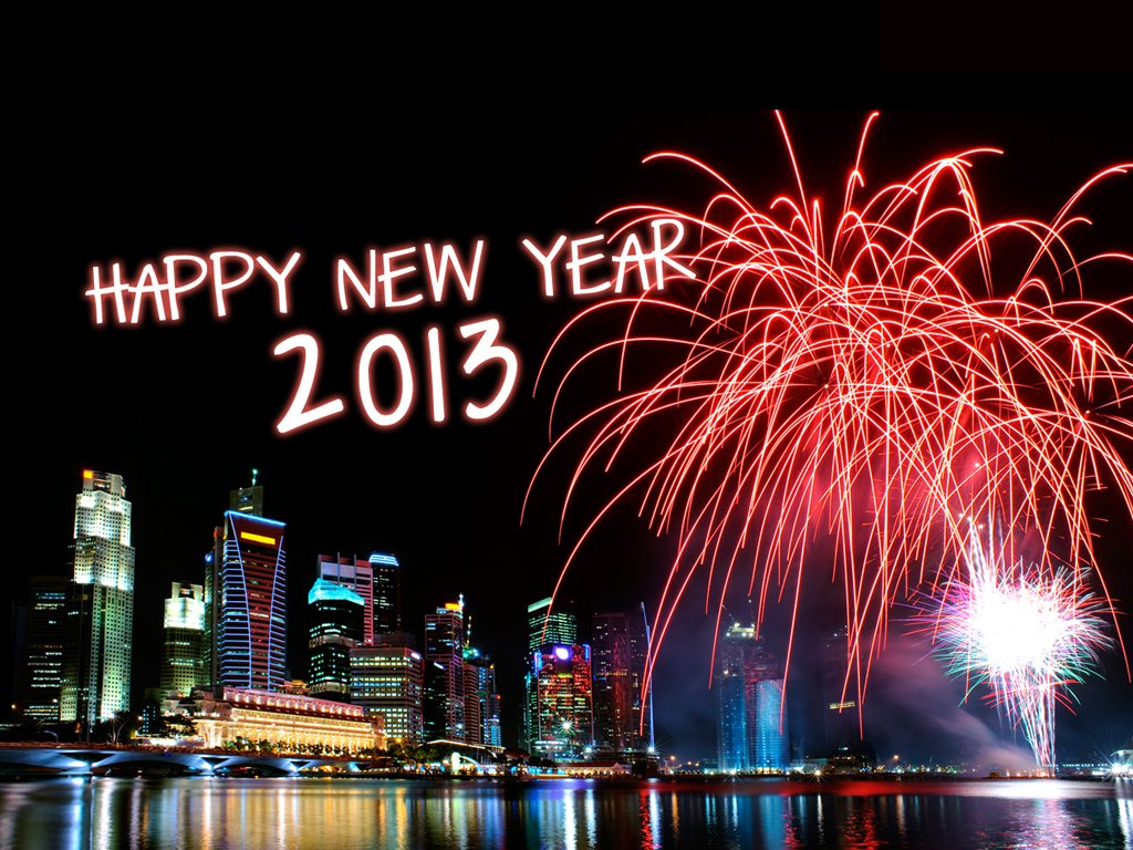 Happy New Year and welcome 2013