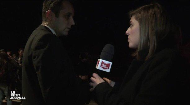 Confondue avec des journalistes de Quotidien, une équipe du Petit Journal expulsée d'un meeting du Front National (VIDEO)