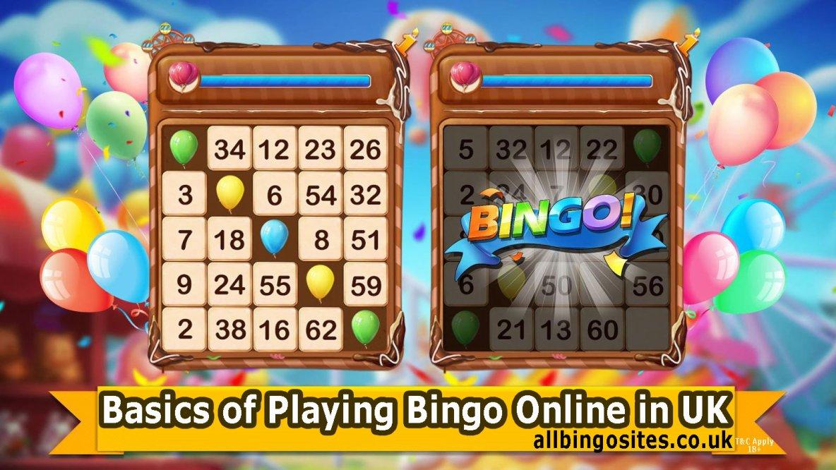 Basics of Playing Bingo Online in UK