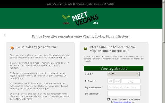 Site de Rencontres Vegans, Bios, Écolos et Hipsters