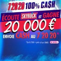 LE 72020 100% CASH !