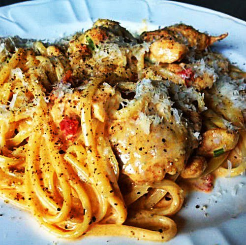 Delicious Foods: Recipe For Creamy Cajun Chicken Pasta And Thing To Need.