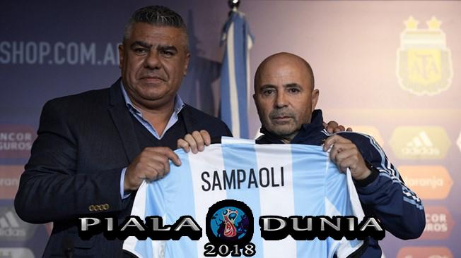 Sampaoli Mengambil Alih Argentina – Piala Dunia 2018